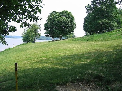 Codorus State Park, Red course, Hole 4 Long tee pad