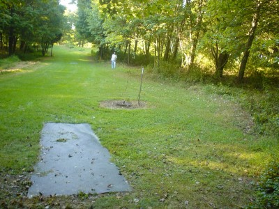 Codorus State Park, Red course, Hole 27 Long tee pad