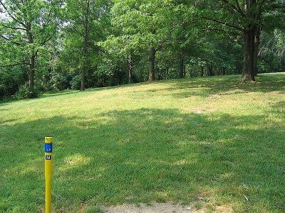 Codorus State Park, Blue course, Hole 8 Long tee pad