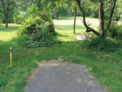Codorus State Park, Blue course, Hole 3 Long tee pad