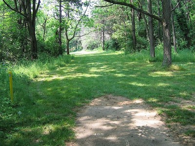 Codorus State Park, Blue course, Hole 21 Long tee pad