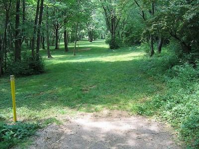 Codorus State Park, Blue course, Hole 16 Long tee pad