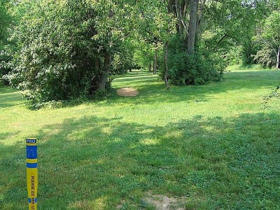 Codorus State Park, Blue course, Hole 11 Long tee pad
