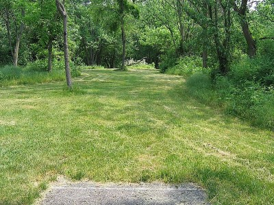 Codorus State Park, Blue course, Hole 13 Long tee pad