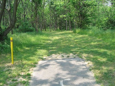 Codorus State Park, Blue course, Hole 19 Long tee pad