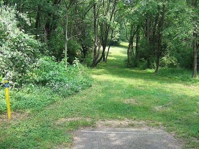 Codorus State Park, Blue course, Hole 15 Long tee pad
