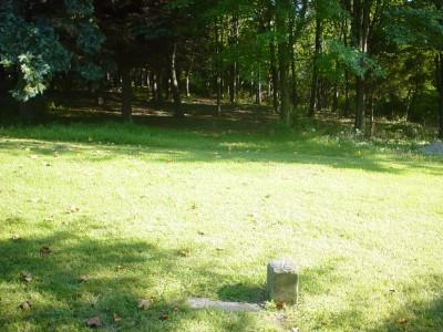 Codorus State Park, Pines Mini, Hole 7 Long tee pad