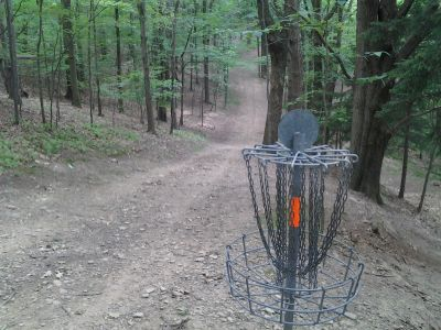 IUP College Lodge, Main course, Hole 14 Reverse (back up the fairway)