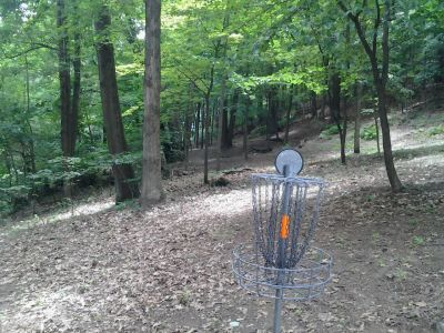 IUP College Lodge, Main course, Hole 3 Reverse (back up the fairway)
