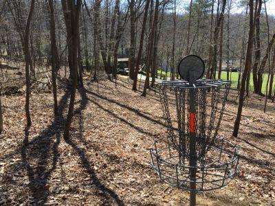 IUP College Lodge, Main course, Hole 10 Reverse (back up the fairway)
