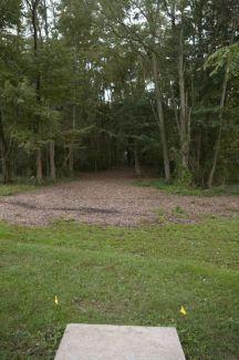 Anson B. Nixon Park, Main course, Hole 17 Short tee pad