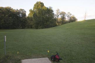 Anson B. Nixon Park, Main course, Hole 12 Tee pad