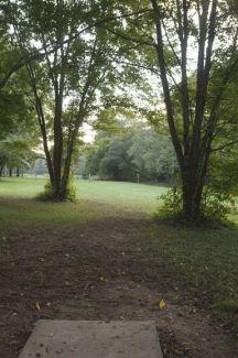 Anson B. Nixon Park, Main course, Hole 15 Short tee pad