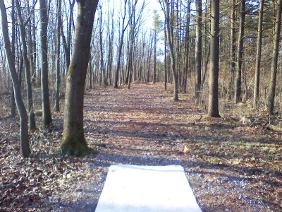 Gifford Pinchot State Park, Quaker's Challenge, Hole 7 Tee pad