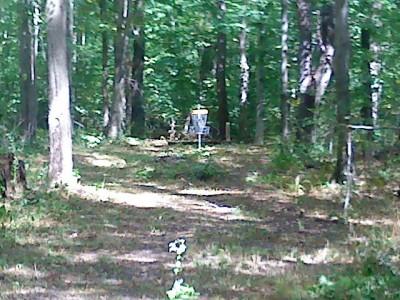 Mercer / Grove City KOA, Main course, Hole 2 Short approach