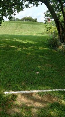 Monroeville Park, Main course, Hole 5 Tee pad