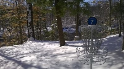 Tyler State Park, Main course, Hole 7 Putt