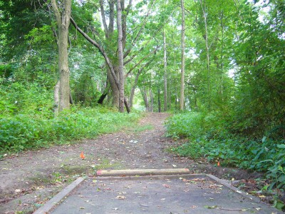 Sedgley Woods, Main course, Hole 24 Long tee pad