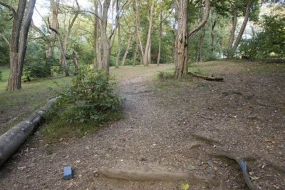 Sedgley Woods, Main course, Hole 5 Short tee pad