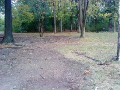 Schenley Park, Main course, Hole 6 Short tee pad