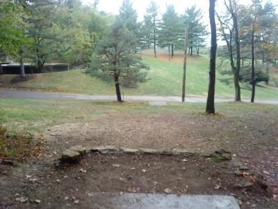 Schenley Park, Main course, Hole 18 Long tee pad
