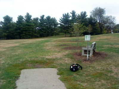 Schenley Park, Main course, Hole 1 Long tee pad