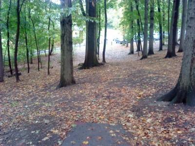 Schenley Park, Main course, Hole 14 Short tee pad
