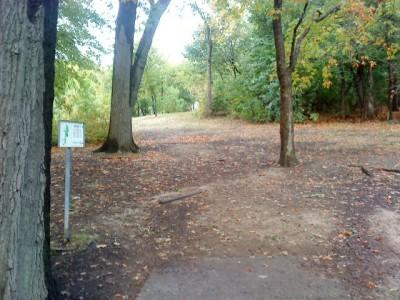 Schenley Park, Main course, Hole 7 Long tee pad