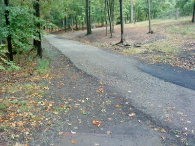 Schenley Park, Main course, Hole 12 Short tee pad