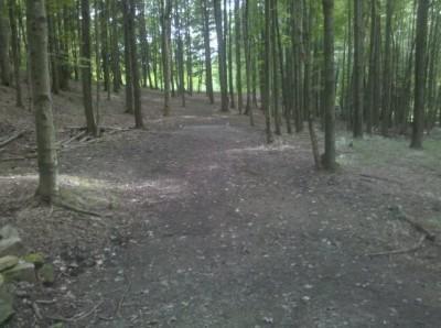 Moraine State Park, Main course, Hole 13 Tee pad