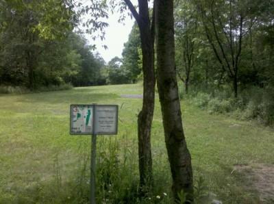 Moraine State Park, Main course, Hole 3 Tee pad
