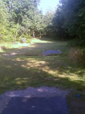 Moraine State Park, Main course, Hole 10 Middle tee pad