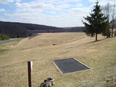 Prompton Lake, Main course, Hole 11 Tee pad