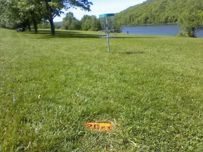 Prompton Lake, Main course, Hole 1 Alternate pin