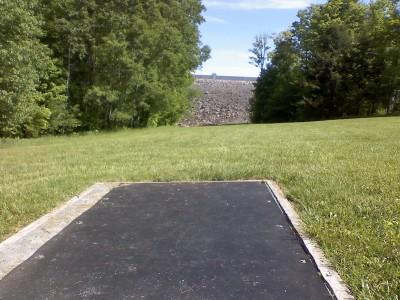 Prompton Lake, Main course, Hole 3 Tee pad