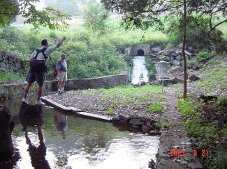 Nockamixon State Park, Main course, Hole 16 Putt
