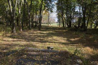 Nockamixon State Park, Main course, Hole 9 Tee pad