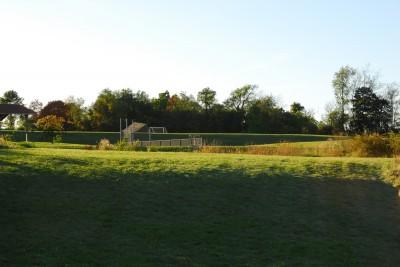 Circleville Park, Main course, Hole 2 Long approach