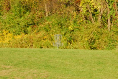 Circleville Park, Main course, Hole 1 Midrange approach