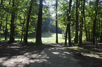 Deer Lakes Park, Main course, Hole 12 Long tee pad