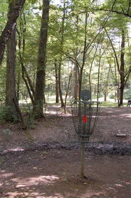 Knob Hill Park, Main course, Hole 13 Reverse (back up the fairway)