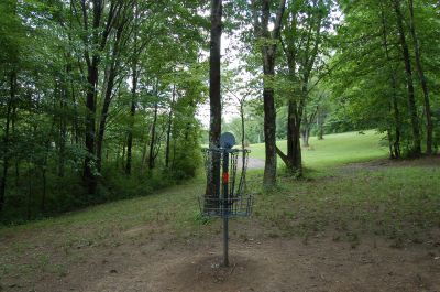 Knob Hill Park, Main course, Hole 11 Reverse (back up the fairway)