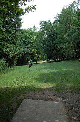 Knob Hill Park, Main course, Hole 12 Tee pad