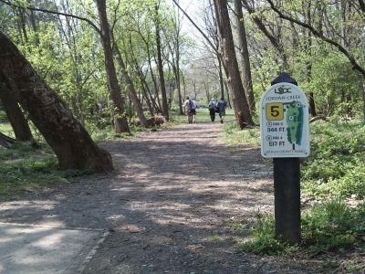 Jordan Creek Park, Main course, Hole 5 Tee pad