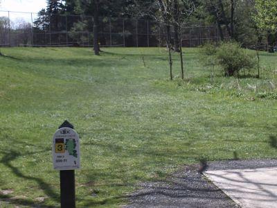 Jordan Creek Park, Main course, Hole 3 Tee pad