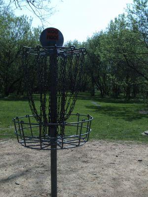 Jordan Creek Park, Main course, Hole 4 Reverse (back up the fairway)
