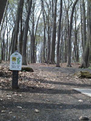 Jordan Creek Park, Main course, Hole 15 Tee pad