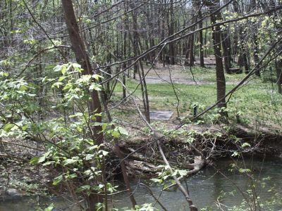 Jordan Creek Park, Main course, Hole 18 Long tee pad