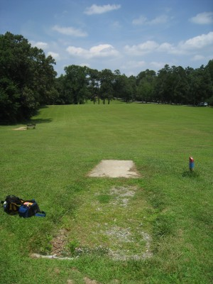Cedarock Park, Cedarock, Hole 17 Long tee pad