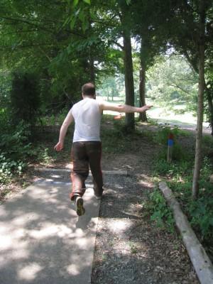 Cedarock Park, Cedarock, Hole 16 Long tee pad